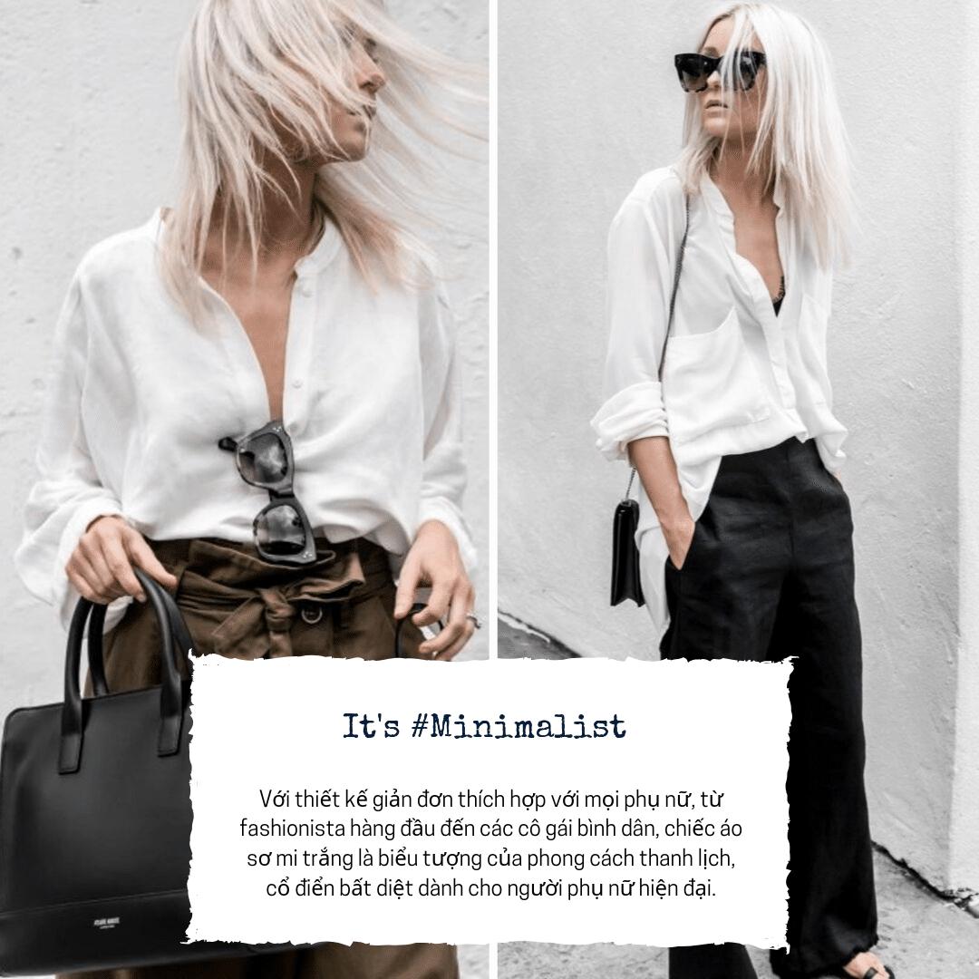 5 items cơ bản dành cho cô nàng theo đuổi phong cách Minimalist